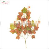 hot selling high quality wholesale decorative artificial autumn grape branches and leaves