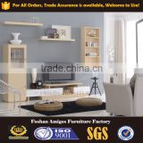 China Foshan modern furniture wood living room wall unit tv cabinet
