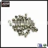 M3 M4 stainless steel Hex socket or crossed head set screw with cone point/ taper set screw