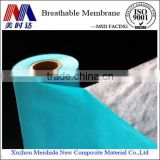 Flexible building materials Composite nonwoven water resistant materials