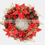 2014 wholesale christmas wreaths ornament suppliers, chinese imported christmas ornaments(AM-CD08)