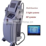 Elight And Rf Ipl Beauty Equipment Q Switch 10MHz Nd Yag Laser Tattoo Removal System Acne Removal