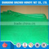 Factory supply light green 50% recycled material construction safety net/mono type vertical safety net