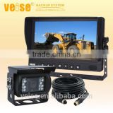 Earthmoving machine camera system for excavators,loaders,dozers,drills,breakers,scrapers and motor graders safety vision