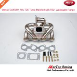 Mertop Race Stainless steel VW Golf 1 MK1 16v 1.8L and 2L T25 Turbo exhaust Manifold with Audi RS2 Wastegate flange