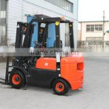Small Diesel Forklift Truck 1.8Ton with 3 Stage Mast For sale