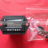 36v LED display battery indicator meter (hexagon)