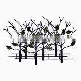Tree metal wall art decoration