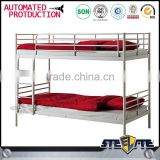 Discount price latest metal bed designs kids double deck bed on sale