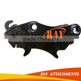 Hydraulic excavator quick hitch used to connect with the excavator and earth auger quick hitch/coupler/linker