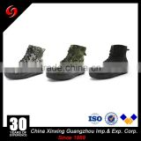 Cheap training military black boots constantly bottom outsoles vulcanized canvas shoes with zipper