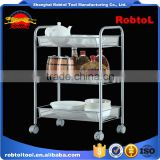 storage trolley basket rack stand wheel cart holder kitchen hotel shopping vegetable fruit