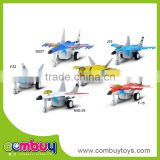 Hot selling kids alloy toy electric music diecast aircraft model
