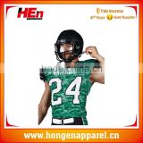 Hongen apparel create your own brand american football clothing, american football t-shirts