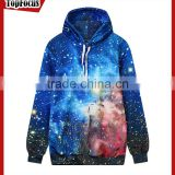 Wholesale fashion ladies custom sublimation pull over gym sweatshirt oversized cropped top hoodie