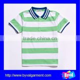korean children clothing of polo shirt custom fashion stripe kids polo shirt wholesale children clothing usa