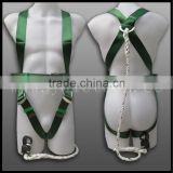 construction safety belts full body harnesses rescue harness 3 point/4 point/5 point made by Ningbo and Hangzhou factory