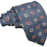 Fashion Men's Silk Woven Stripe And Dots And Paisley And Classic Necktie