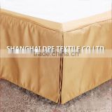 100% Polyester Hotel Bed Skirt