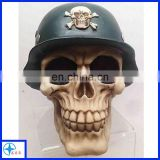 funny artificial decorative skull