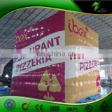 6 m Giant Inflatable Rubik's Cube Shape Helium Balloon Advertising Event Display PVC 0.8 mm Inflatables