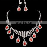 Fashion belly dance necklace earrings set accessory jewelry for women P-9040#