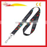 Printed Polyester Custom Pen Holder Neck Strap