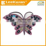 Custom Design Sequin Butterfly Embroidery Applique Patch
