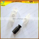new design single hole plastic garment stopper