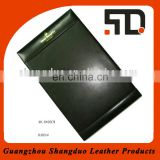 Hotel Resturant Widely Used Leather PU Notepad in Factory Price