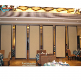 Restaurant walls folding Office acoustic screen Hanging style melamine board Operate walls folding foldable hotel walls room partitions