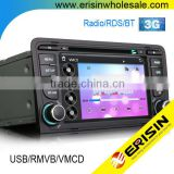 "Erisin ES7683A China factory 7"" Car Multimedia System Car DVD Player for A3 S3"