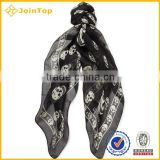 Digital print design twill silk scarf