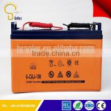 Energy Saving High Quality 12v 100ah sealed lead acid deep cycle battery with long lifispan