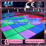 Newly products led full dance floor, DMX LED dance floor, SD control led dance floor for sale