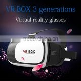 2016 NEW Innovative 3rd Generation Virtual Reality Glasses,VR Box,VR Glasses with bluetooth remote