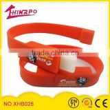 2014 World Cup Silicone Whistle/Silicone Whistle Band/Silicone Whistle Bracelet