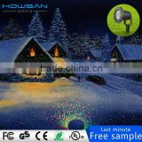starry light shower LED spike lights 5m cable Certificated christmas laser light projector