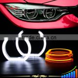 B-deals CE Rohs E-mark switchback style e92 crystal led angel eye lighting for bmw headlights