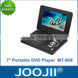 Fashion Design Popular 7inch Portable DVD Player with TV/FM/USB/SD