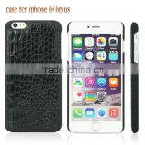 2016 Guangzhou cell phone case skin crocodile leather case for iphone 6 4.7&plus, for iphone 6 case crocodile, for iphone 6 plus                                                                         Quality Choice