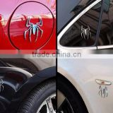 The spider metal sticker Creative funny car posted 3 d car metal stick