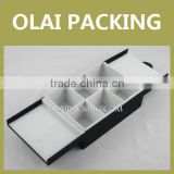 Handy Foldable Tea Storage Box with 9 Division