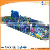 Good quality kids playground indoor plastic slide baby play games