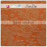 Pretty decorative brown lace fabric for girls skirts