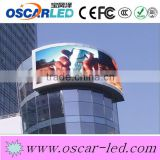 professional manufacturer curve led display cabinet portable outdoor advertising led display p10 scrolling led display sign