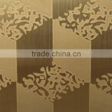 etched stainless steel sheet