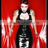 2012 women sexy leather & vinyl costumes