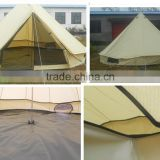 3M 4M 5M Glamping Yurt Tent Bell Tent Waterproof Cotton Canvas