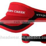 OEM fashion high quality sports custom cheap visor/ sun visor/ uv protection sun visor cap